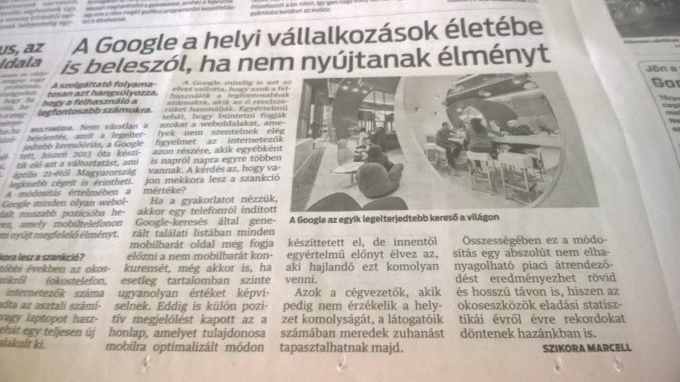 Szikora Marcell cikke a Kelet-Magyarországban