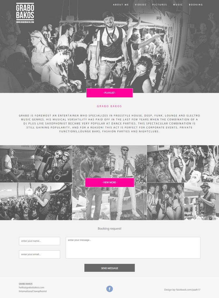Teljes weboldal